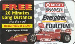 USA Phonecard  FujiFilm FERARI Coca Cola RR - Vereinigte Staaten