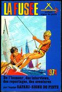 La Fusée - 1974 - Collection Signe De Piste  / Éditions Alsatia - ( 1974 ) - Bücher, Zeitschriften, Comics