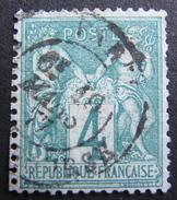 LOT R1510/163 - SAGE TYPE I N°63 - CàD De PARIS PL. De La BOURSE Du 29 MARS 1877 - Cote : 100,00 € - 1876-1878 Sage (Type I)