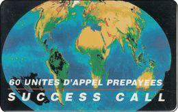 Frankreich Phonecard  Globe Weltkugel - Frankreich