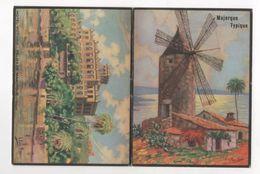 FOLLETO TURISMO MAJORQUE TYPIQUE - 16 Fotos - 4 Paginas De Texto En Francés - Presentacion Firmada I. PONS FRAN ? - Folletos Turísticos