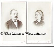 PARIS - FAMILLE GHAZY GIRAUD - CDV PHOTO - GENEALOGIE - Personnes Identifiées