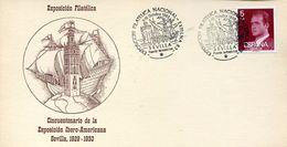 23687 Spain, Special Postmark 1983 Sevilla,  Columbus, Colon,  Coulomb - Christopher Columbus