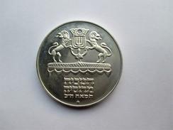 Israel, 5 Lirot, 1972 Hanukka. - Israel