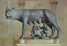 Roma - Capitolinus Museums. The Wolf - La Lupa.  Italy  # 06940 - Museum