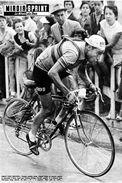 Illustration Du Magazine - Tour De France 1955 Poblet - Carte Photo Moderne - Cyclisme