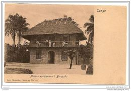 CONGO  EX  BELGE ..-- BANGALA ..-- Nels , 14 , N° 19 .  Maison Européenne à BANGALA . - Belgian Congo - Other