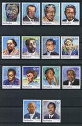 Barbados 2016 - Personnalités Des Iles Barbade, Série Courante 2016 - 14 Val Neufs // Mnh - Barbados (1966-...)