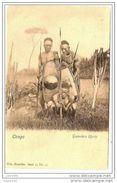 CONGO EX  BELGE ..-- Nels , 14 , N° 42 .   Guerriers UPOTO . - Belgian Congo - Other