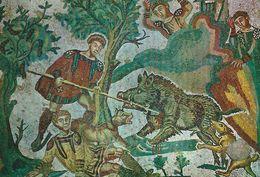 Piazza Armerina - Mosaici - Mosaics      Italy.   # 06945 - Unclassified