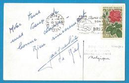 (A686) - Signature / Dédicace / Autographe Original - Jacqueline DU BIEF - Patineuse Artistique (Championne Monde 1952) - Autographes