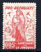 Viñeta  Nº 4 Pro Refugiats La Junquera. - Viñetas De La Guerra Civil