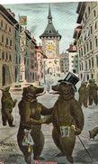 OURS HUMANISES RENDEZ-VOUS BEIM BAREN BRUNNEN - Bears