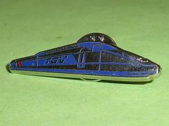 Pin's / Trains / TGV : TGV  ( Verso Decat Paris )     TB2p - TGV