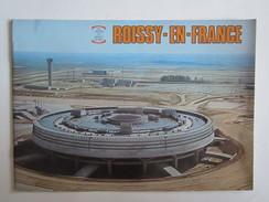Publicité Roissy En France Aeroport Construction Aviation Avion Plan - Technische Pläne