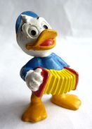 FIGURINE BULLY 1977 NEVEU DE DONALD AVEC CYMBALLES - Disney