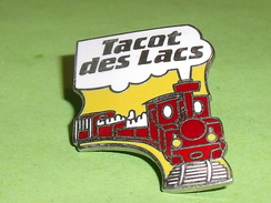 Pin's / Trains / TGV : Locomotive , Tacot Des Lacs    TB2p - TGV