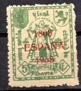 Viñeta  Nº 8a  Con Sobrecarga  Alhama De Granada. - Verschlussmarken Bürgerkrieg