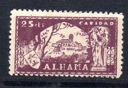 Viñeta   Nº 27    Alhama De Granada. - Verschlussmarken Bürgerkrieg