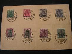 Saar Auf Germania 1920 - Gebraucht