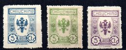 Viñetas   Nº 9/11. Chauchina. - Verschlussmarken Bürgerkrieg