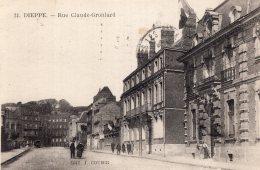 V11251 Cpa 76 Dieppe - Rue Claude Gronlard - Dieppe