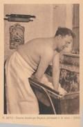 Dernier Boulanger Liégeois Pétrissant à La Main.(1929) - Craft