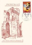 FETE DU TIMBRE  06/03/2004 PERTUIS LA TOUR SAINT JACQUES (dil306) - Fêtes