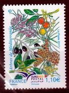 France, EUROMED, Mediterranean Trees, 2017, MNH VF - Unused Stamps