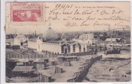[44] Loire Atlantique > Nantes Du Haut Du Water Toboggan Exposition Nantes 1903 Avec Vignette De La Manifestation - Nantes