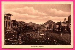 Mouron - Frankreich - Animée - Oblit. Rés. Infanterie Régiment Nr 87 2e Kompagnie - Briefstempel - 1916 - Sin Clasificación