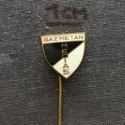 Badge (Pin) ZN005576 - Football (Soccer / Calcio) Romania Gaz Metan Medias (Mediaș) - Fútbol