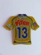 Magnet - Just Foot 2010 - Sochaux - N° 13 - Pitch - Pasquier - Sports