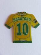 Magnet - Just Foot 2009 - Bagayoko - N° 10 - Nantes - Sports