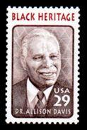 USA 1994, Scott #2816, Black Heritage: Dr. Allison Davis, 29c., Single, MNH - Unused Stamps