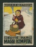 Suisse // Schweiz // Switzerland // Erinnophilie // Vignette , Maggi, Kempttal - Cinderellas