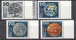 Allemagne DDR 1990  Mi.nr.: 3360-3363 Kongress Der.....  Neuf Sans Charniere /MNH / Postfris - [6] Democratic Republic