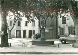 83.FORCALQUEIRET.place Edgar Elanc.n°351J.CPSM - Altri Comuni