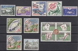 MONACO 1963 LOT N° 611/ 613 / 615 / 616 / 617 / 620 / 623 X 2 / BLOC 628 A 631 / 634 /  13 TP NEUFS * /K355 - Unused Stamps