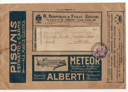 L1097 FIRENZE BEMPORAD PISONIS METEOR - MICHETTI 20 CENT. (2) - 1900-44 Victor Emmanuel III