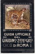 L1099 Roma Guida Giardino Zoologico 1911 PAG. 40 - Livres, BD, Revues