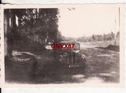 PHOTO 9 X 6 Cms - AUTO-VOITURE-AUTOMOBILE Marque ? A SITUER A LOCALISER - Cars