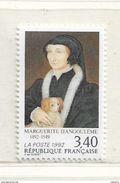 Timbre FRANCE  1992 N° YVERT ET TELLIER N° 2746 N Marguerite D'Angoulême 1492-1549 - France