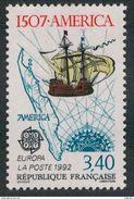 Timbre France 1992 - Europa - Découverte De L´Amérique Christophe Colomb Yt N°2756 Neuf - France