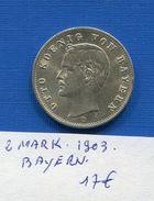 2  Mark   1903  Bayern - [ 2] 1871-1918 : Empire Allemand