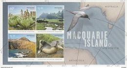 Australian Antarctic Territory  ASC 185MS 2010 Macquarie Island MS MNH - Unused Stamps