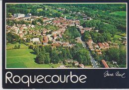 Vue Générale Aérienne De Roquecourbe (81) - - Roquecourbe