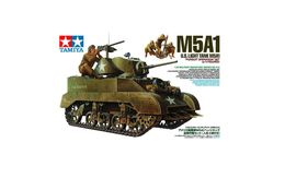 US Light Tank M5A1 1/35 ( Tamiya ) - Military Vehicles