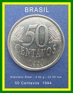 Brasil Coins 50 Centavos 1994 - Brésil