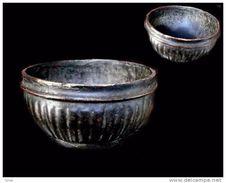 Ancienne Coupe à Riz Laquée / Old Burmese Lacquerware Family Rice Bowl Container - Art Asiatique